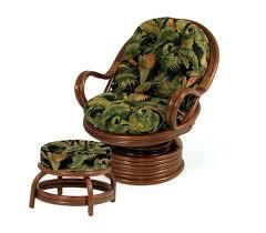 wicker storage ottoman with cushion tag rattan storage ottoman