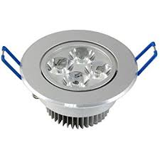 Recessed Ceiling Light Fixtures Lemonbest Dimmable 4x1w 110v Led Downlight Recessed Ceiling