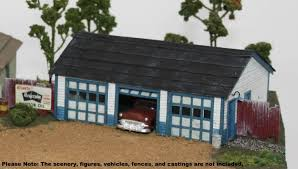 three car garage railroad kits railroad kits the ho scale structure value