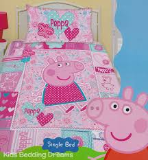 Peppa Pig Toddler Duvet Cover Peppa Pig Pink Quilt Cover Set Peppa Pig Bedding Kids Bedding
