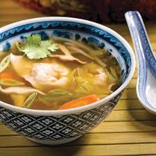 cuisine au gingembre soupe wonton porc et gingembre recettes cuisine et nutrition