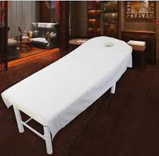 massage table with hole massage bed table cover salon spa couch sheet with hole ebay