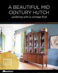 the perfect vintage china hutch u2022 ad aesthetic