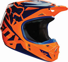 ktm motocross helmets fox racing new 2016 mx v1 race orange blue ktm motocross