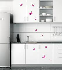 Decor For Baby Room Pink Butterfly Wall Stickers Decor For Baby Nursery Rooms