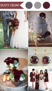 fall colors for weddings top 10 fall wedding color ideas for 2016 released by pantone