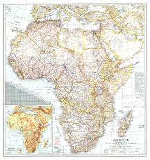 Africa Map map