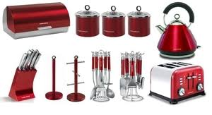 Red Kettle And Toaster Morphy Richards Red Set U2013 Glass Dishes For Meat U0026 Dairy