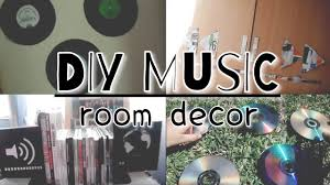Diy Bedroom Decor by Diy Music Room Decor Youtube