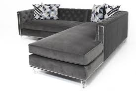 Sleeper Sofa Sectional With Chaise Living Room Living Room Furniture Gray Velvet Oversized