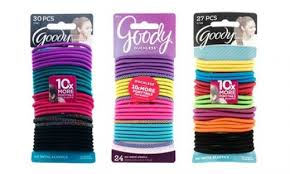 goody hair cheap goody ouchless elastic hair ties 120 or 135 pack