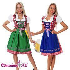 Beer Maid Wench Costume Oktoberfest Couple Gretchen German Fancy by Oktoberfest Dresses Ebay
