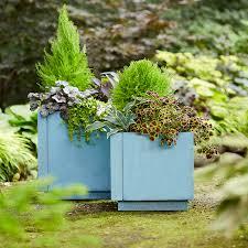 Concrete Planter Boxes by Easy Planter Boxes U0026 Potted Plants