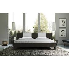 monroe upholstered platform bed u0026 reviews allmodern