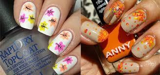Easy Fall Nail Art Designs 15 Amazing Fall Autumn Nail Art Designs Ideas Trends