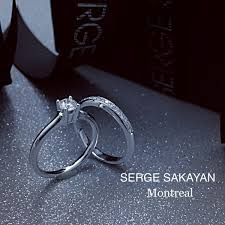 montreal wedding bands serge sakayan design 1 2 carat diamond solitaire engagement ring