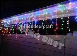waterproof outdoor 480 led 16m icicle lights for garden christmas