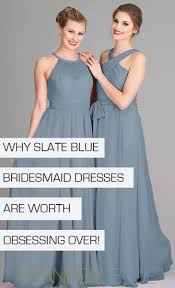 slate blue bridesmaid dresses 18 slate blue bridesmaid dresses worth obsessing wedding