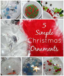 christmas ornament sensory play little bins for little hands