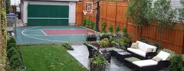 Backyard Basketball Half Court Power Court U2013 Backyard Basketball Courts U0026 Sports Facilities Builder
