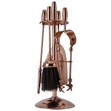 copper fireplace tool set circa 1910 for sale at 1stdibs