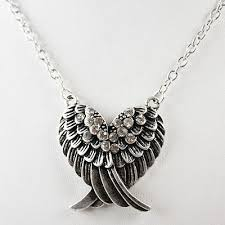 necklace with angel wings images Angel wing necklace angel jewelry pinterest wing necklace jpg
