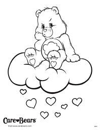 care bears coloring sheet don u0027t grumpies meet