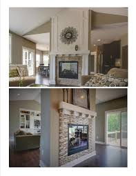 two sided fireplace idea muston construction inc for the home