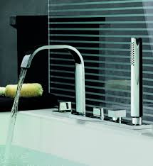 Aguablu Roman Tub Filler W Hand Shower