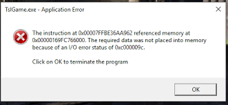 pubg not loading the instruction at 0x00 referenced memory at 0x00 client