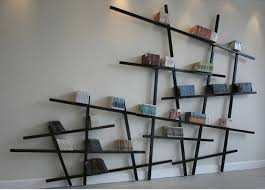 Wooden Wall Bookshelves by 21 Creative Storage Ideas For Books Modern Interior Design With