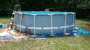 Intex 14 X 42 Landscaping Around Base Of Intex Ultra Frame Pools Page 7