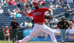 arrieta makes phillies debut sunday vs marlins lindy s sports