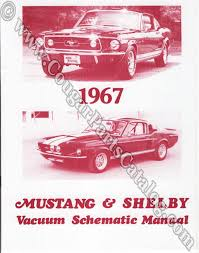 vacuum schematic manual repro 1967 mercury cougar 1967 ford