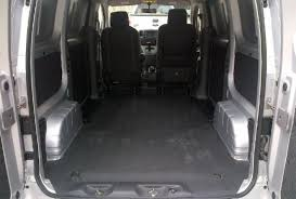 Nissan Nv200 Interior Dimensions The U0027taxi Of Tomorrow U0027 Is The Cargo Van Of Today Ny Daily News