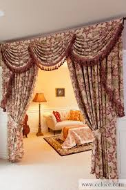 Curtains Seattle Valance Curtains With Swags And Jabots Traditional Seattle