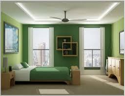 minimalist bedroom bedroom green wall theme brown wooden shelves