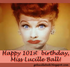 a blog about lucille ball august 2012