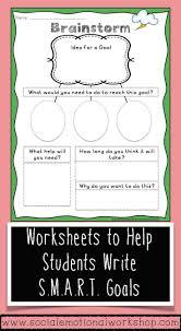 Setting Smart Goals Worksheet 26 Best Goal Setting Images On Pinterest Goal Settings Student