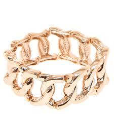 rose gold link bracelet images Rose gold large link bracelet claire 39 s us jpg