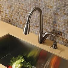 100 vigo stainless steel pull out kitchen faucet stainless