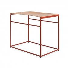 leather sling stool minimalist furniture blu dot