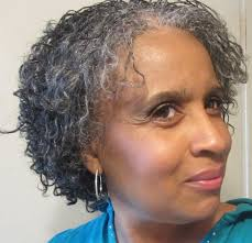 how to wear short natural gray hair for black women natural gray hair styles hairstyles ideas