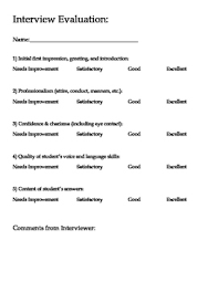 do you need a resume for college interviews youtube planning mock interviews this pdf includes a rubric and