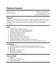 Good Resume Example For High by Home Improvement First Resume Template 21 First Resume Format
