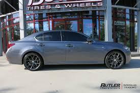 lexus gs tire size lexus gs with 20in vossen vfs6 wheels exclusively from butler