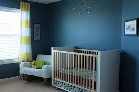 Teal Nursery Curtains Nursery Home Tour