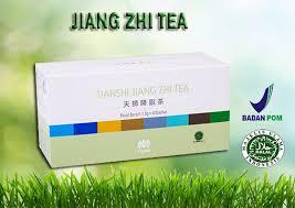Teh Jiang jual jiang zhi tea teh hijau teh pelangsing alami teh detox