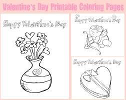 valentine u0027s kids printable coloring pages
