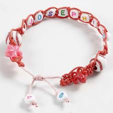 braided bracelet diy images A braided bracelet with letter beads diy guide jpg